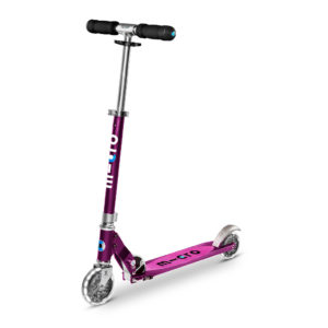 Micro Scooter Sprite purple stripe LED SA0219