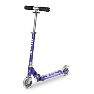 Micro Scooter Sprite blue stripe LED SA0217