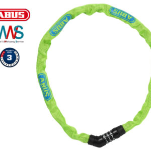 ABUS Steel-O-Chain 4804C Lime