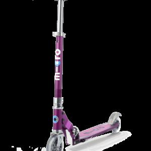 Micro Scooter Sprite SE purple stripes SA0137