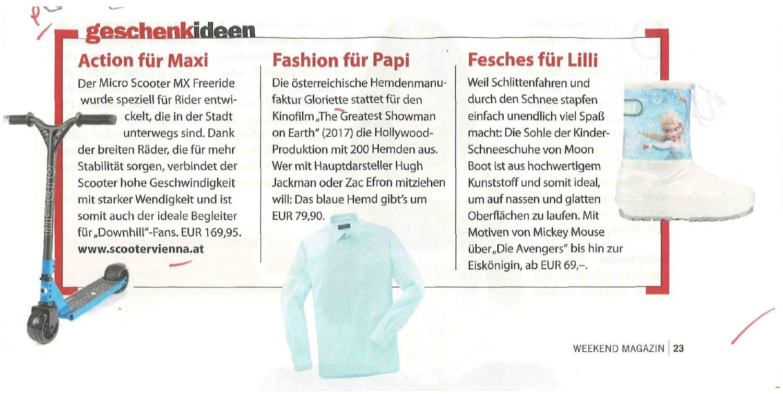 Read more about the article Am Wochenende ins Weekend Magazin schauen,