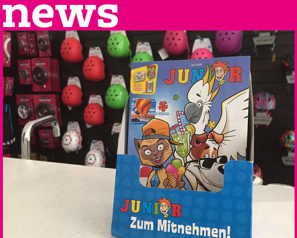 Read more about the article Junior Kinderzeitschrift Juli