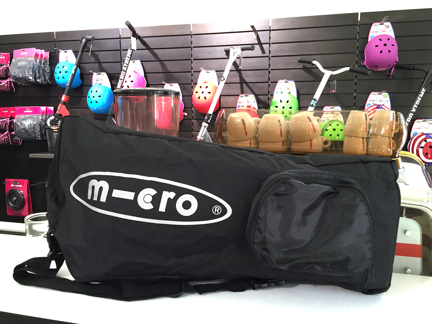 Read more about the article Micro Scooter Tasche