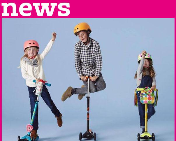 Read more about the article Riesen Fahrspaß für unsere Kids mit den Kickboards von Micro!