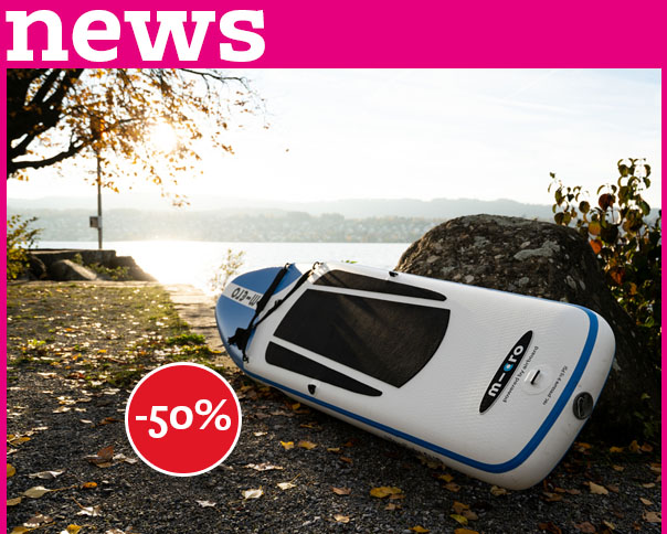 Read more about the article '-50% SALE MICRO ULTRALIGHT SUP & MICRO PADDLE